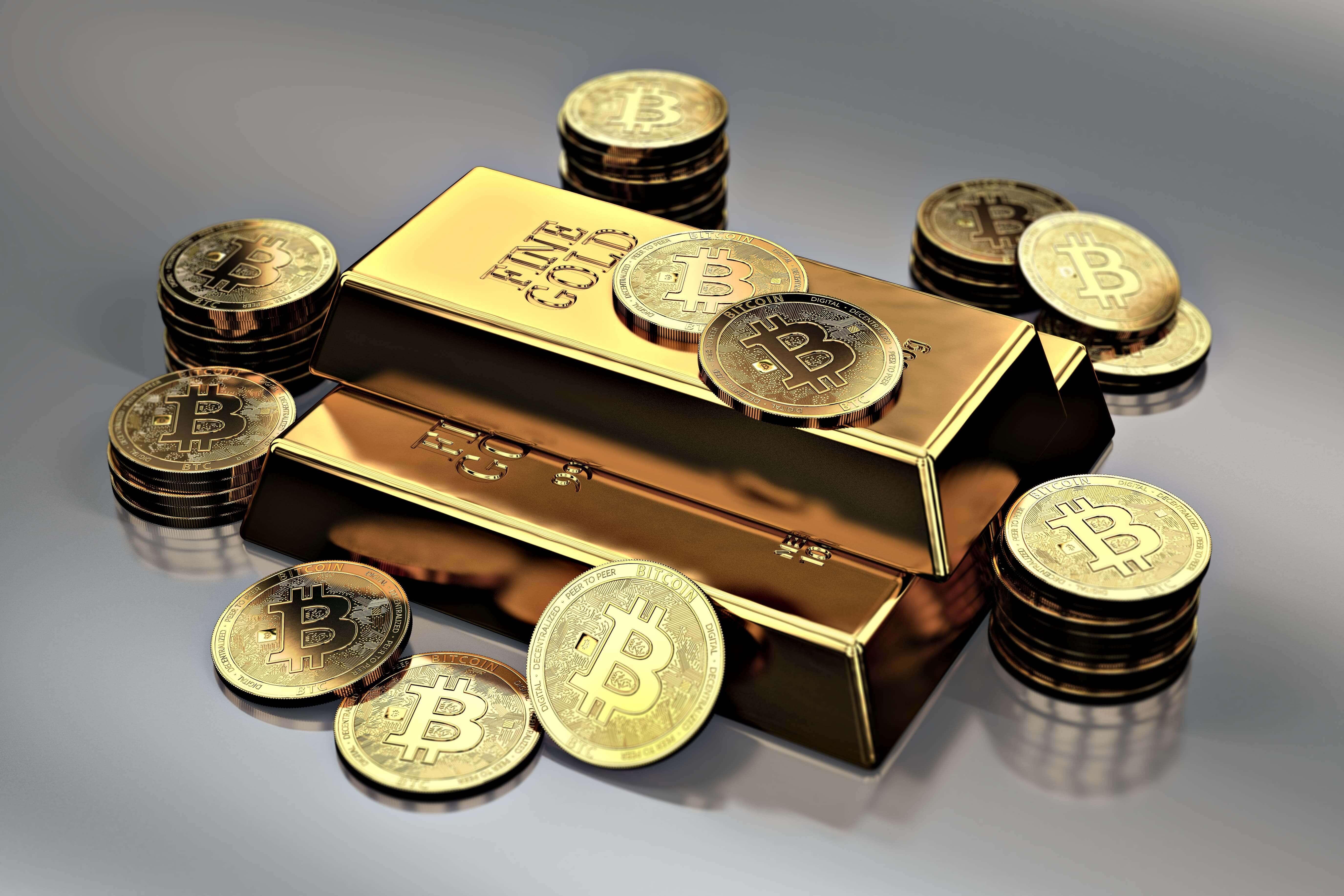 ビットコイン(Bitcoin/BTC)と金の購入方法と税金の違いについて